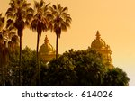 romantic sunset at balboa park  ...