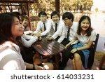 bangkok  thailand   november 17 ... | Shutterstock . vector #614033231