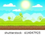 game background made from... | Shutterstock . vector #614047925