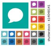 blog comment bubble multi... | Shutterstock .eps vector #614048141