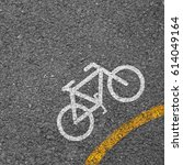 bicycle icon background texture ... | Shutterstock . vector #614049164