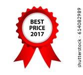 special red badge  best price... | Shutterstock . vector #614082989