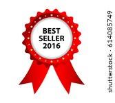 special red badge  best seller... | Shutterstock .eps vector #614085749