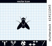Fly Simple Icon. Insect...