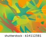 abstract unusual background... | Shutterstock .eps vector #614112581