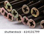 dowel nails   Shutterstock . vector #614131799