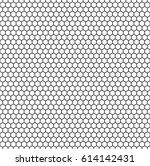 minimalistic hexagon seamless... | Shutterstock .eps vector #614142431