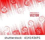 festive comic diagonal dash... | Shutterstock .eps vector #614143691