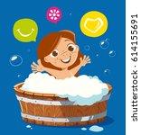 color vector character...   Shutterstock .eps vector #614155691