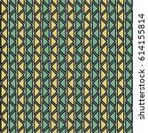 seamless vector abstract zig... | Shutterstock .eps vector #614155814
