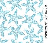 cute seamless pattern of sketch ... | Shutterstock .eps vector #614162945