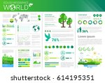 world environmental protection...   Shutterstock .eps vector #614195351