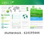 world environmental protection... | Shutterstock .eps vector #614195444