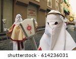 enna  sicily  italy   march 25  ... | Shutterstock . vector #614236031
