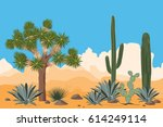 Desert Pattern With Joshua...