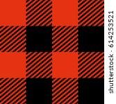 check seamless vector pattern... | Shutterstock .eps vector #614253521