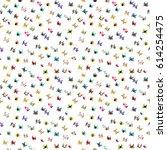 people top view. men and women... | Shutterstock .eps vector #614254475