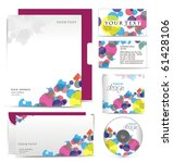 business style templates for... | Shutterstock .eps vector #61428106