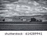 abandoned houses speaking of... | Shutterstock . vector #614289941