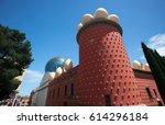 museum of salvador dali in the...   Shutterstock . vector #614296184