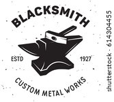 Vintage Blacksmith Labels And...