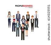 business people design | Shutterstock .eps vector #614325551
