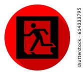 safe condition sign. emergency... | Shutterstock .eps vector #614333795