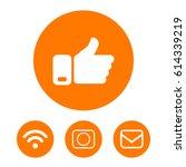 like vector icon | Shutterstock .eps vector #614339219