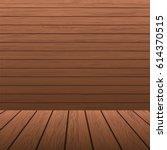 wooden planks background | Shutterstock .eps vector #614370515