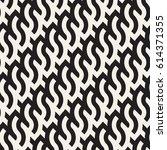 seamless geometric pattern.... | Shutterstock .eps vector #614371355
