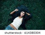 fashion beauty lifestyle... | Shutterstock . vector #614380304