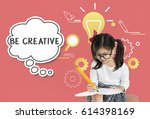 imagining creative inspiration...   Shutterstock . vector #614398169