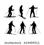 collection of vector silhouette ...