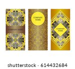 set of templates for business...   Shutterstock .eps vector #614432684