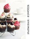 cupcake stand | Shutterstock . vector #61445026