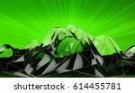 abstract mountain landscape in... | Shutterstock . vector #614455781