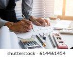architecture  building ... | Shutterstock . vector #614461454