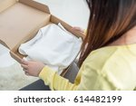 people  delivery  shipping and... | Shutterstock . vector #614482199