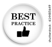best practice icon. best... | Shutterstock . vector #614485649