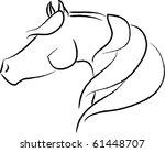 Arabian Horse Illustration  ...