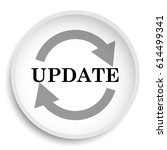 update icon. update website... | Shutterstock . vector #614499341