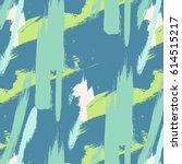 expressive minimalistic pattern.... | Shutterstock .eps vector #614515217