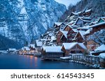 classic view of traditional... | Shutterstock . vector #614543345