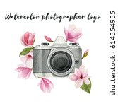 Watercolor Photographer Logo...