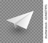 aircraft  icon. vector... | Shutterstock .eps vector #614607491