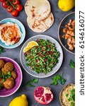 Assorted Middle Eastern Dishes...