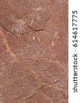 Small photo of Brown silt slate texture. Onezhskiy slanets deposit.