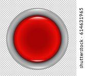 red button | Shutterstock . vector #614631965