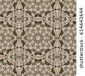 vector illustration. seamless... | Shutterstock .eps vector #614643644