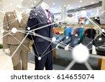 smart retail   deep learning  ... | Shutterstock . vector #614655074